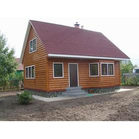 Строительство типовых деревянных домов эконом класса под ключ.
